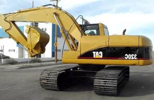 Экскаватор Caterpillar 320C