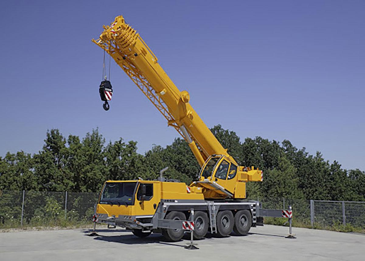 Автокран Liebherr LTM 1070 70 тон