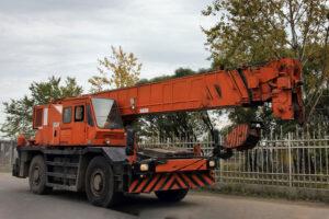 Автокран КАТО NK 40 тон