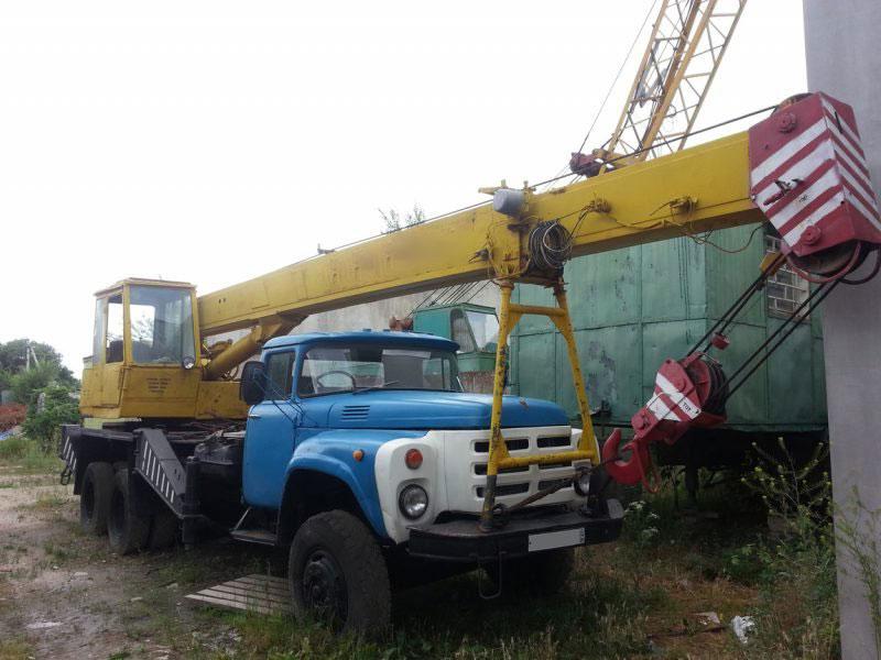 Автокран КС-3575