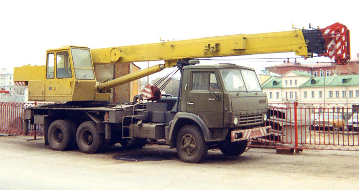 Автокран КС-4572А Галичанин