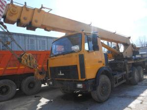 Автокран КС-55727 Машека